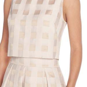 Eliza J Dresses - Eliza J Check Satin Two Piece Dress